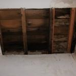 Organ loft roof